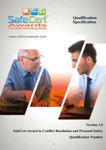 Conflict Management Qualification Specification
