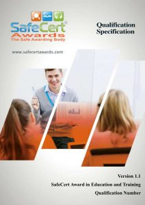 Education and Training Award Qualification Specification