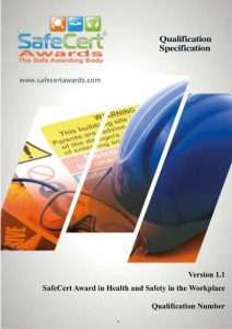 Health and Safety Award Qualification Specification