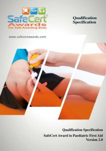 Emergency Paediatric First Aid Qualification Specification