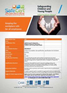 Child Protection Award Information Sheet