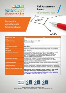 Risk Assessment Information Sheet